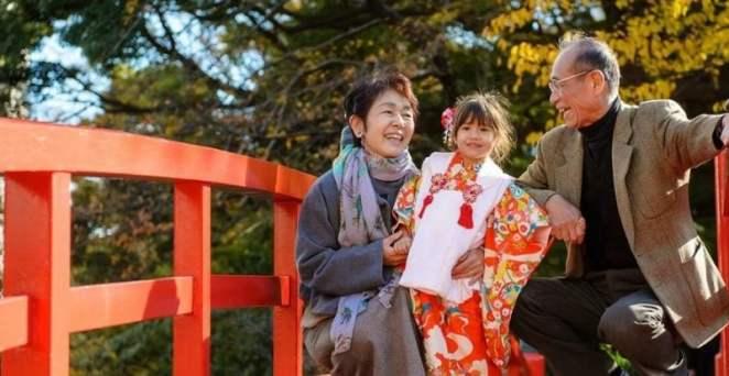 ser feliz no Japão