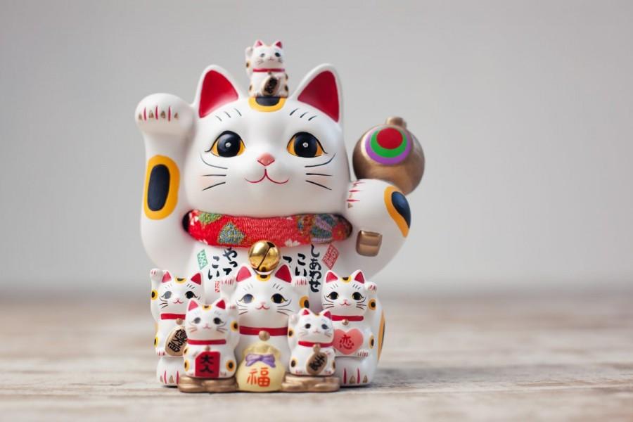 Maneki neko - gato da sorte japonês - significado e origem