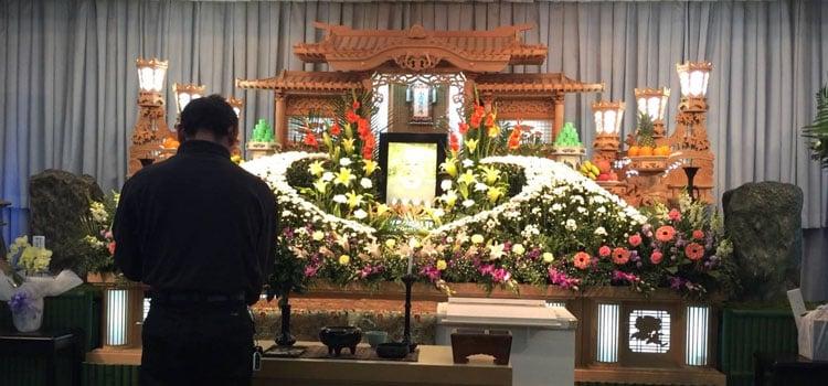 Cementerio y funeral en Japón