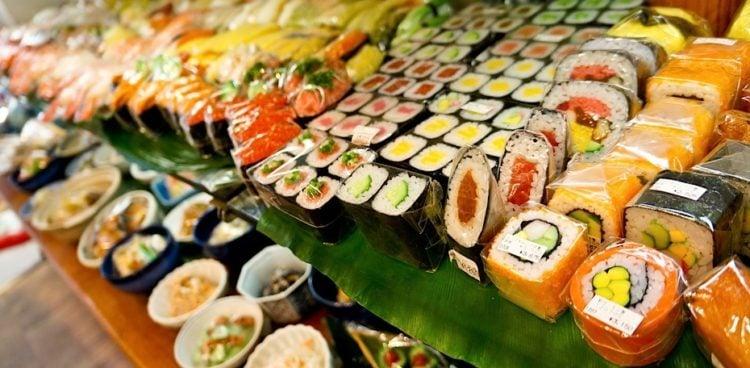 紫菜-有关寿司中使用的著名海藻的信息