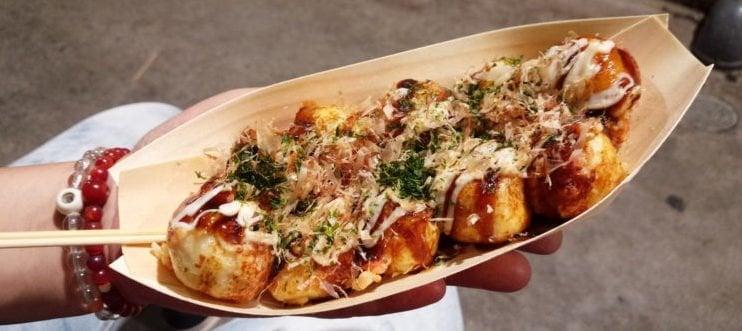 Takoyaki - Bolinho de polvo grelhado 1