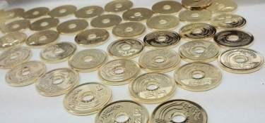 goen - moeda de 5 ienes