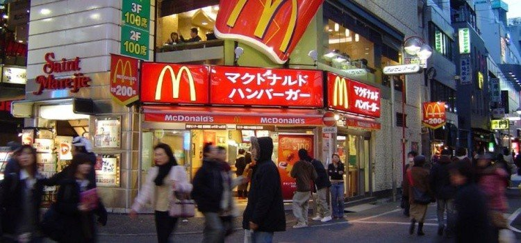 Fast food in japan - how are they? Which are the most popular?