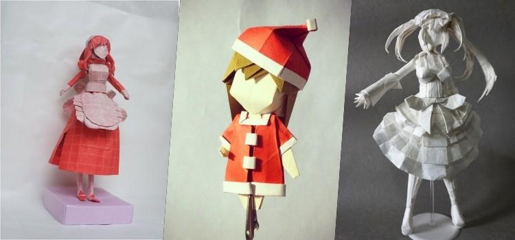 origami anime