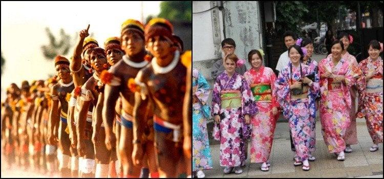 日语和其他语言之间的相似之处