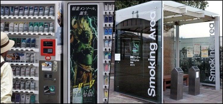 Curiosidades sobre fumar cigarro ou tabaco no Japão