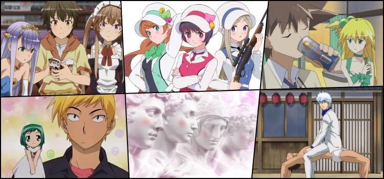 Animes idiotas ridiculos bizarros - outbreak, yuri kuma, akikan, midori, sekkou e gintama