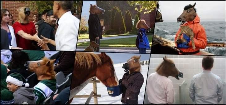 Máscara de cabeça de Cavalo - Como viralizou?