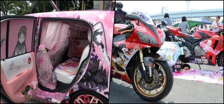 Itasha – o carro dos otakus com decoração de animes