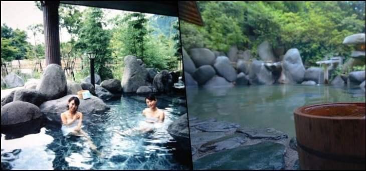Diferentes tipos de águas termais dos onsen e seus benefícios
