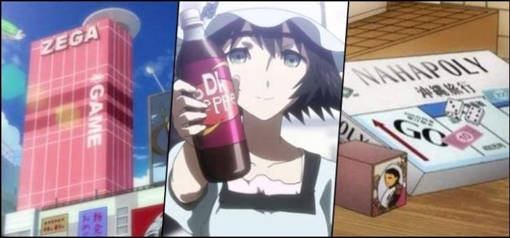Marcas e empresas parodiadas nos animes