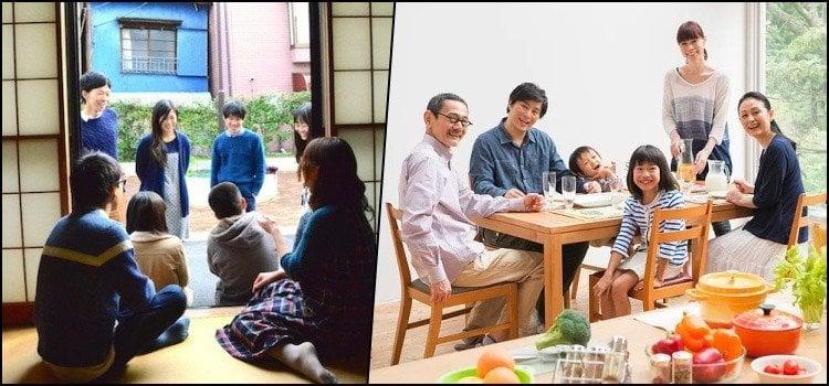 家族 - Kazoku - Membros da família em japonês
