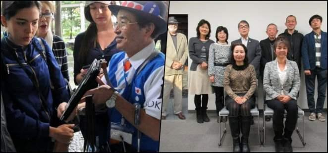 Guias turísticos voluntários e gratuitos no Japão
