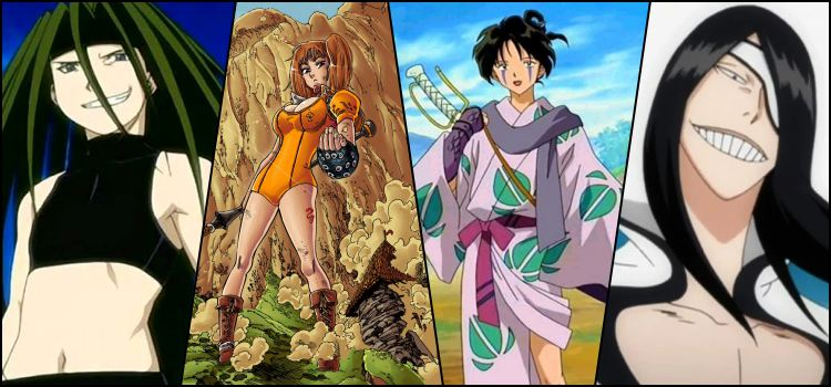 7 pecados capitais nos animes - referências e personagens