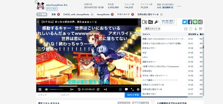 NicoNico Douga - O youtube do Japão