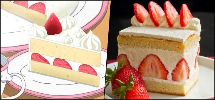 Receta: el famoso pastel de fresa del anime