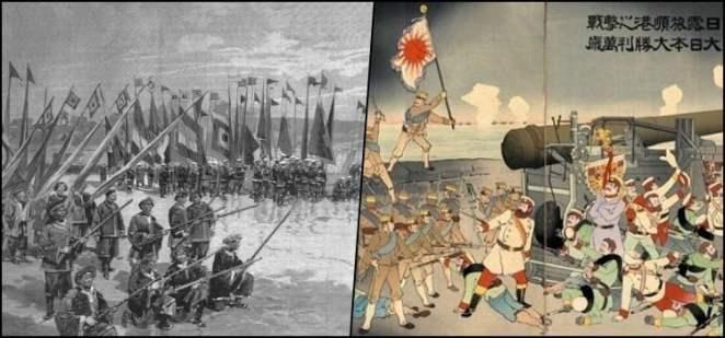 História do Japão Imperial - Restauração Meiji e Guerras