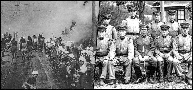 Histórico de Guerras do Japão - Lista de Conflitos