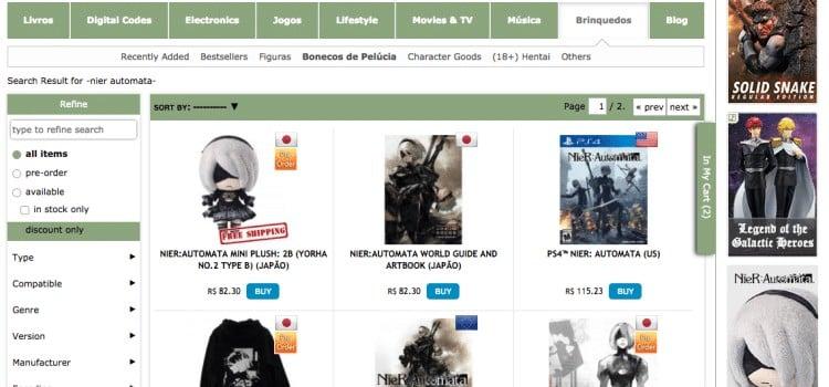Como comprar pela Play-Asia - Jogos e produtos de Animes