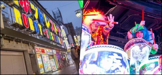 Robot Restaurant - Conhecendo o popular destino de Shinjuku