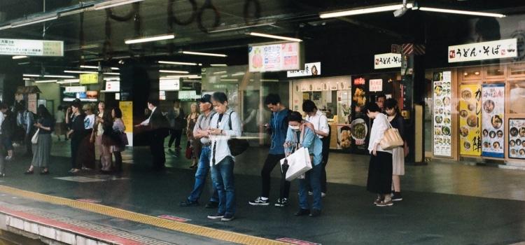 As 8579 estações ferroviárias do Japão I-L - trem japao4 1