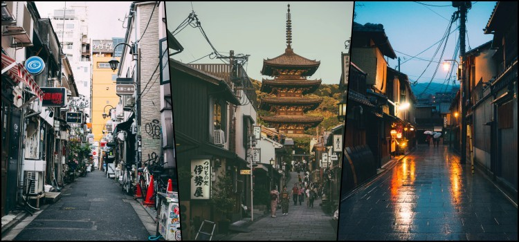 O japão é o melhor destino para sua viagem