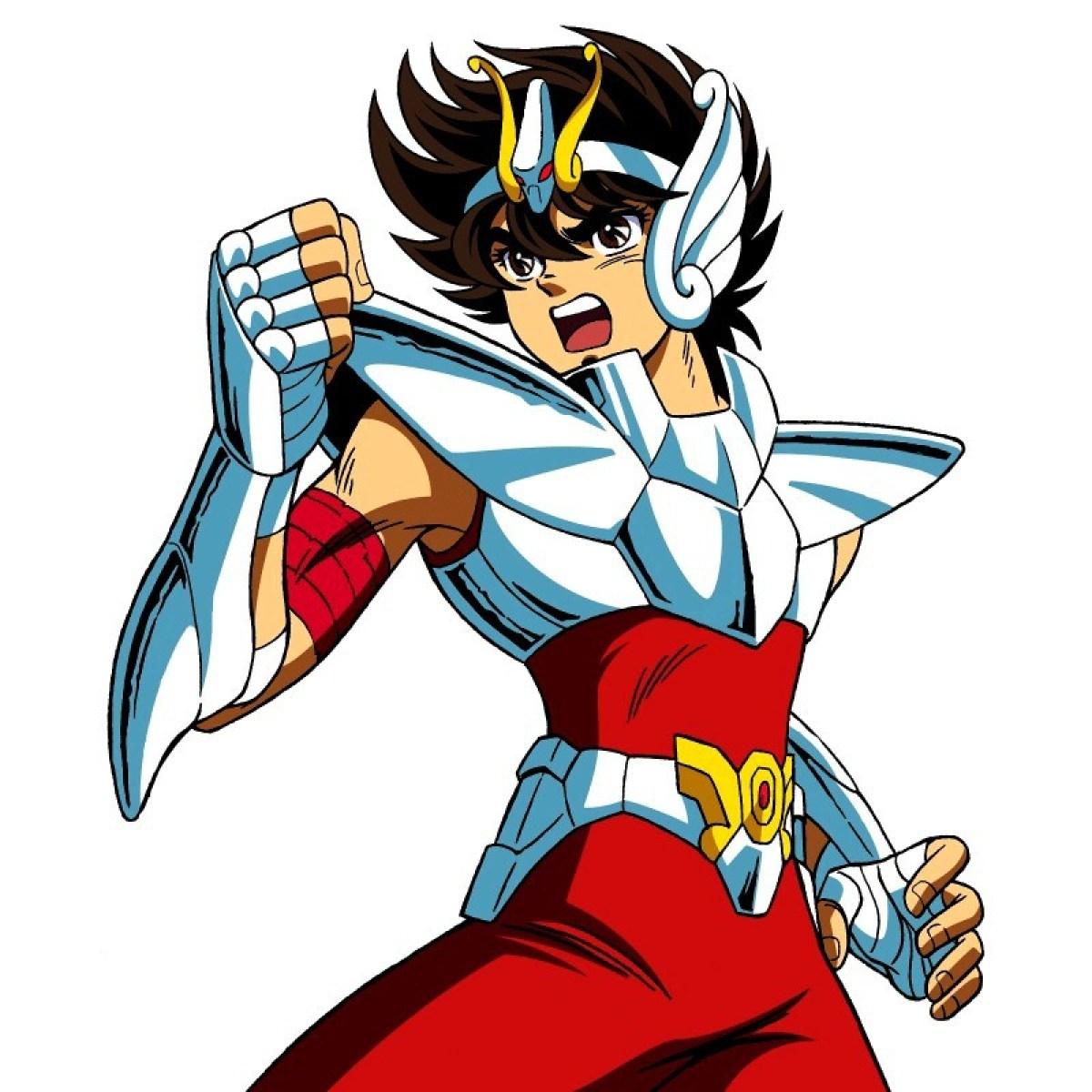 Manual de como montar um protagonista shounen - saint seya cavaleiros anime 7