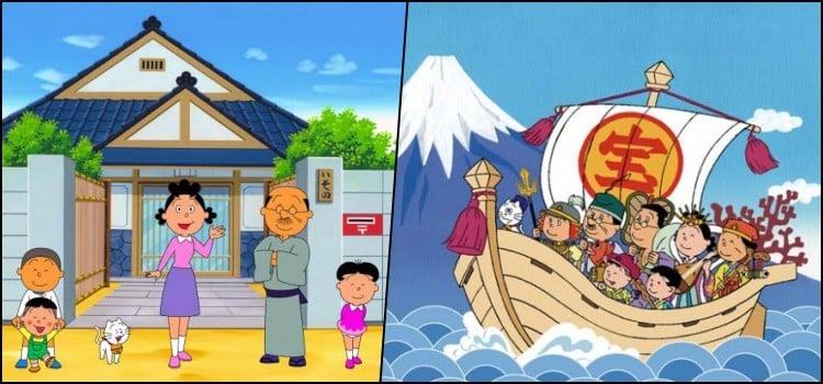 Sazae-san - O anime mais longo da história