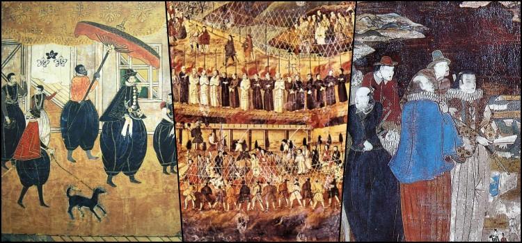Comércio escravo de japoneses pelos portugueses