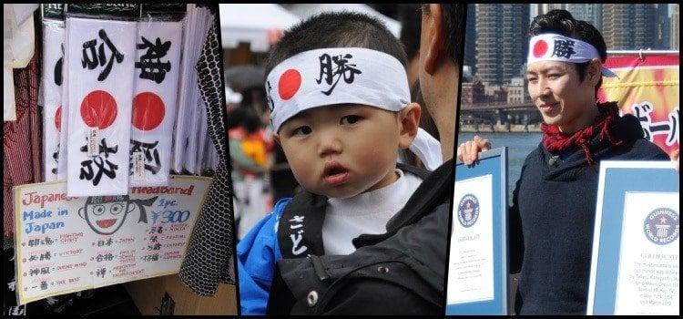 Hachimaki – as tradicionais bandanas japonesas