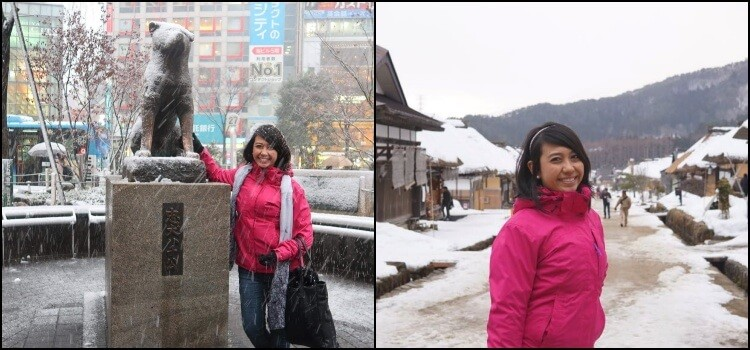 Experiência com mofa – bolsa no japão