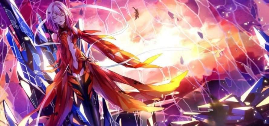 Animes sobre vírus e epidemias - guilty crown 1 2