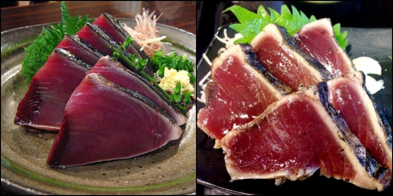 Warayakiya - katsuo tataki - barbacoa de pescado japonesa