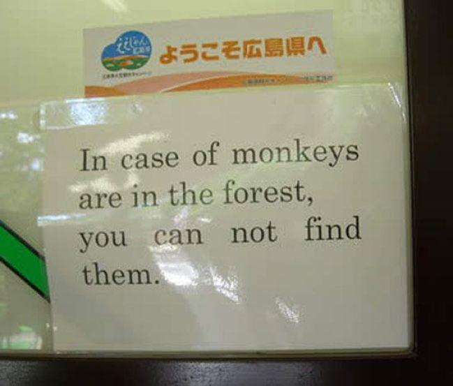 Beware of them