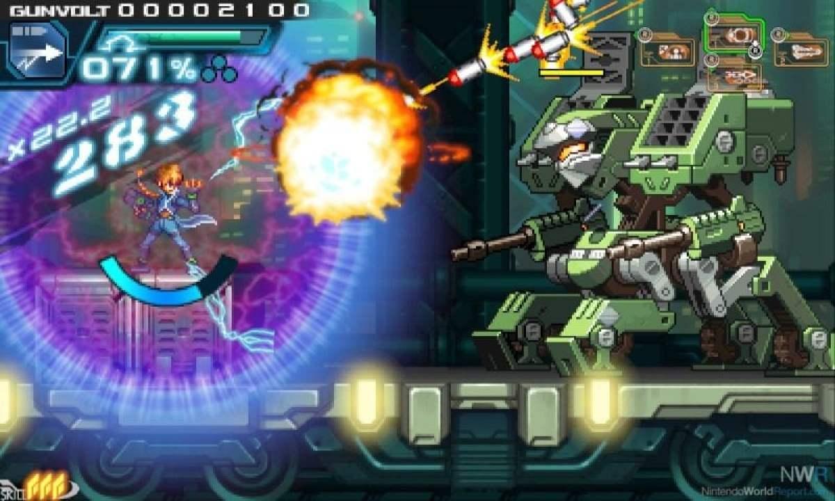 Azure Striker Gunvolt - Um jogo no estilo Megaman de respeito! 2