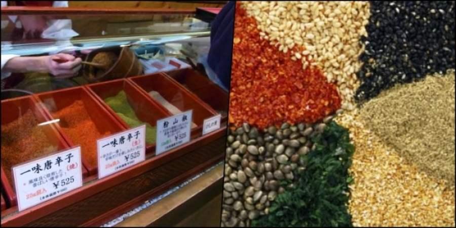Shichimi - Os sete deliciosos sabores japoneses - tempero japones sabo 1