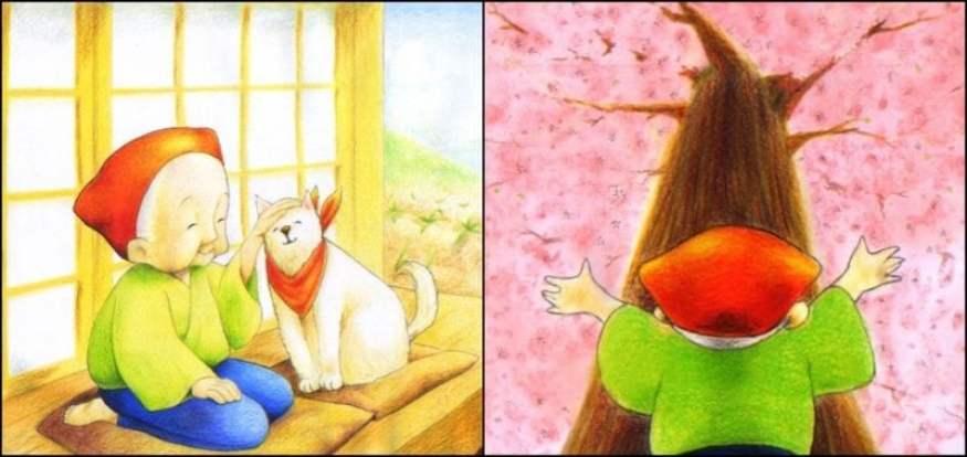 Hanasaka jiisan - câu chuyện của người đàn ông già nở rộ cây