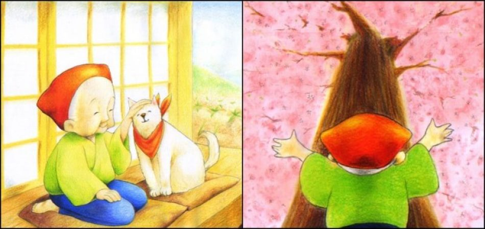 Hanasaka Jiisan - O conto do velho que florescia árvores