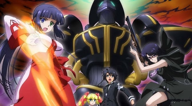 Animes de ação - Melhores animes com lutas e confrontos - asura cryin 6