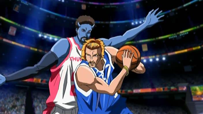 Animes de Basquete pra quem curtiu Kuroko no Basket - basquete alien 5