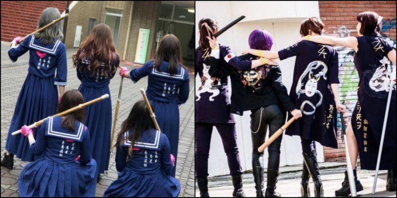 Sukeban - Băng đảng nữ Nhật Bản