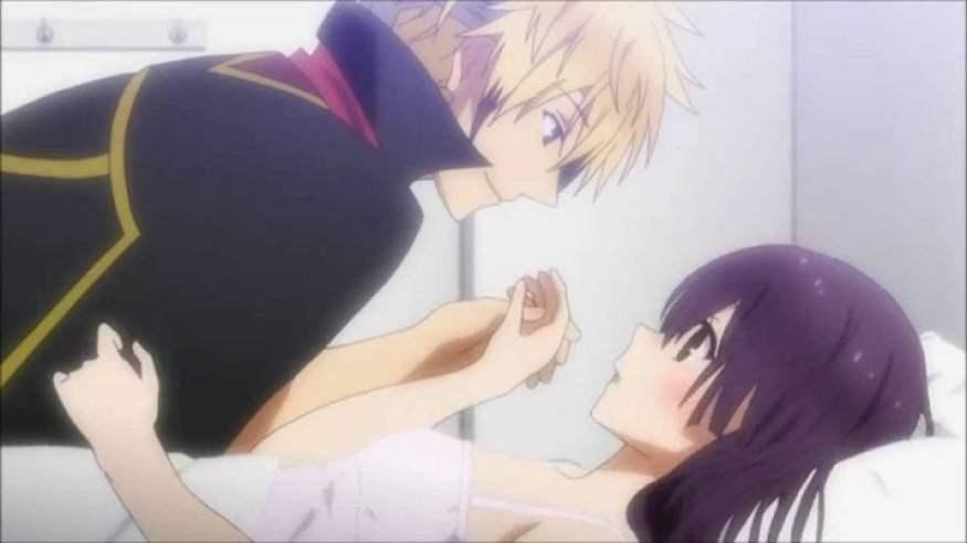 Los mejores besos de anime - lista de parejas