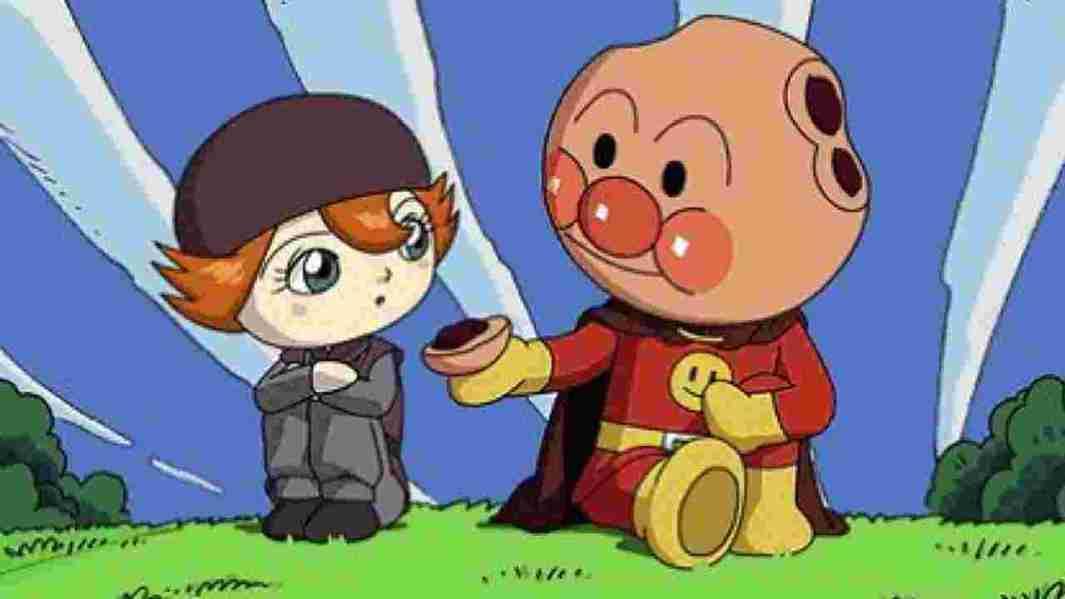 Anpanman - o bolinho de feijão herói - anpanman01 1