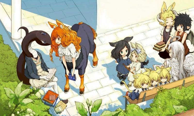 Monster Girls - anime với những cô gái quái vật hoặc nhân cách hóa