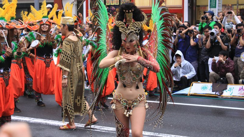 Nhật Bản ăn mừng lễ hội hóa trang ở Nhật Bản?
