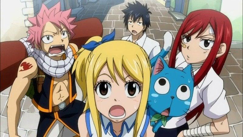 Os 10 animes mais populares da Crunchyroll - fairy tail 7