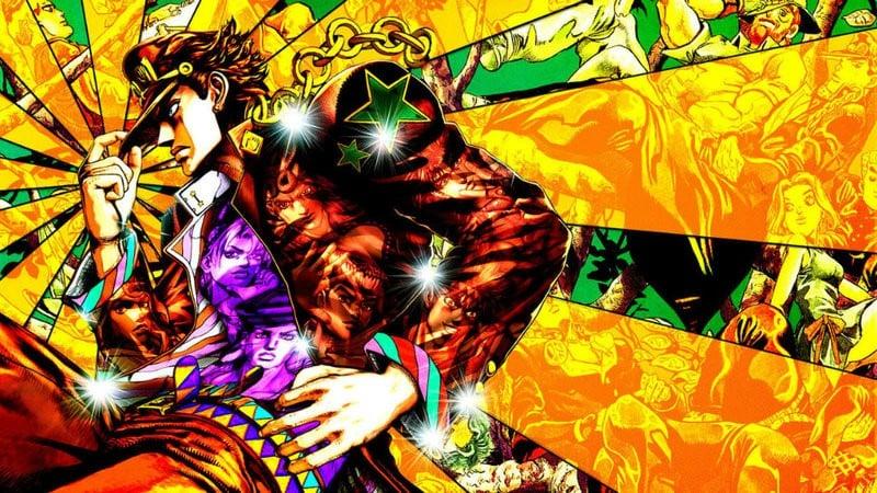 Os 10 animes mais populares da Crunchyroll - jojo 1