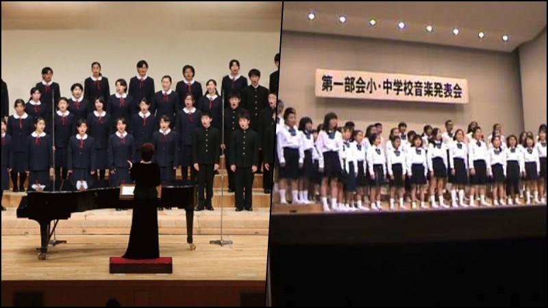 Orquestras e Corais nas escolas japonesas