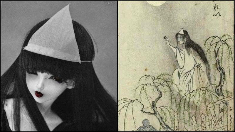 額隠 - 神秘的日本白布