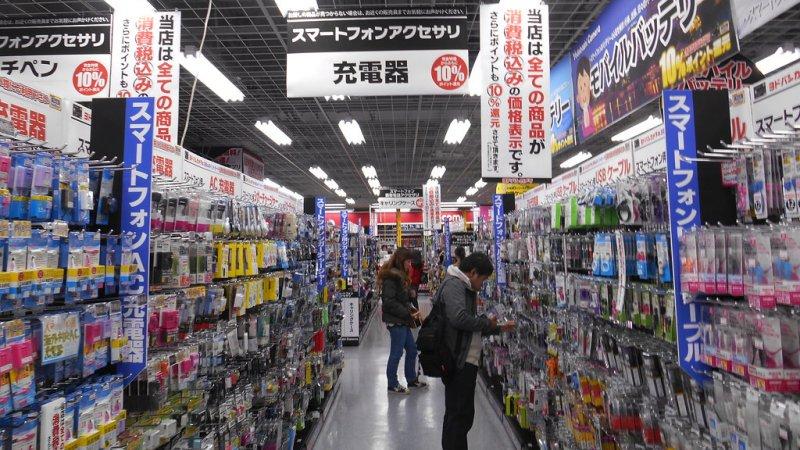Yodobashi Camera - A maior loja de eletrônicos do Japão - yodobashi 1